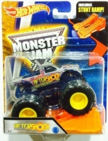 Машинка Hot Wheels Монстр трак Aftershock Monster Jam