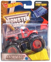 Машинка Hot Wheels Монстр трак Backdraft Monster Jam