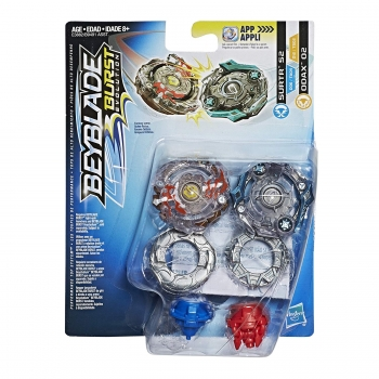 Бейблейд Суртр С2 и Одакс Surtr S2 and Odax Beyblade Burst Hasbro
