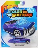 Машинка Hot Wheels Измени цвет Purple Passion BHR15