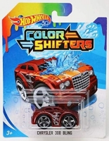 Машинка Hot Wheels Измени цвет Chrysler 300C Bling BHR15