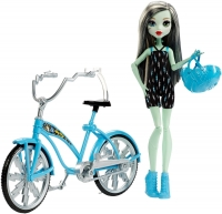 Кукла Френки Штейн на велосипеде Monster High