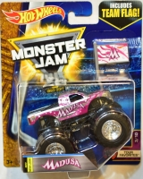 Машинка Hot Wheels Монстр трак Madusa с рампой Monster Jam