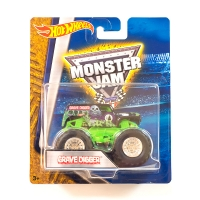 Машинка Hot Wheels Монстр трак Grave Digger Monster Jam