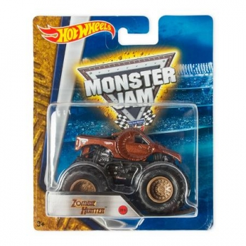 Машинка Hot Wheels Монстр трак Zombie Hunter Monster Jam