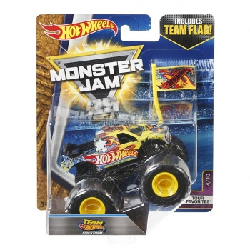 Машинка Hot Wheels Монстр трак Team Flag Monster Jam