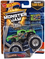 Машинка Hot Wheels Монстр трак Travels Fast Monster Jam